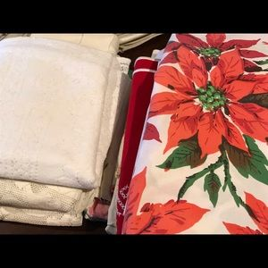 Other - Antique Cotton Linen Tablecloths 50 yrs old
